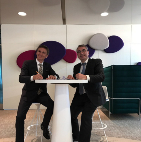Officialisation du partenariat avec la Caisse d'Epargne