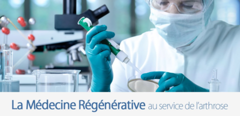La solution injectable qui va révolutionner la thérapie du cartilage.