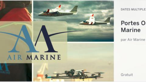 Exceptionnel, journées portes ouvertes d'Air Marine à Léognan (33) jusqu'au 9 mars inclus.