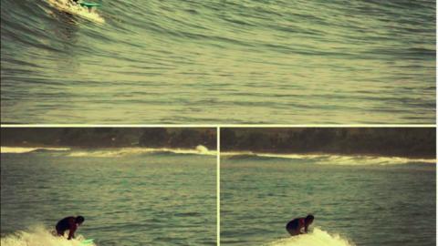 Avant, c'était compliqué d'apprendre à surfer…