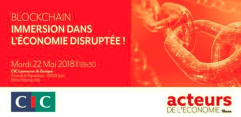 Retour sur la conférence-débat (technologie Blockchain) – Lyon.