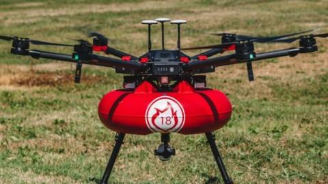 Grand Prix du Sénat du Concours Lépine International Paris 2018 pour ce drone pompier.