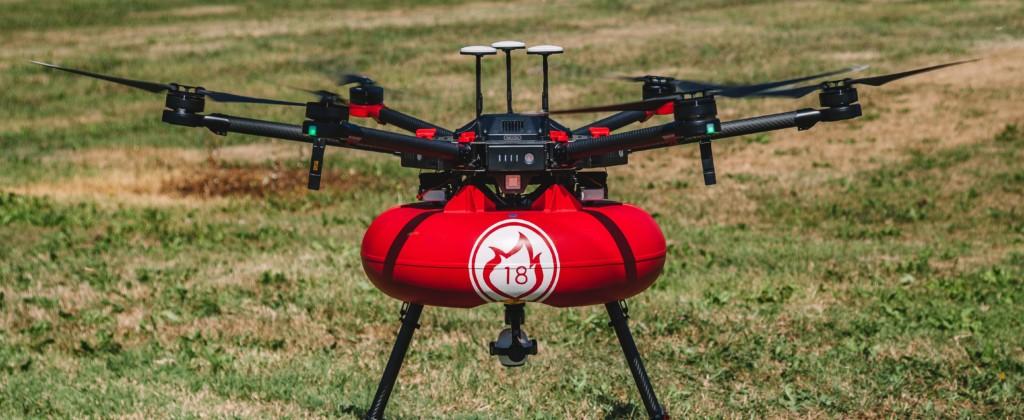 Voici le projet de drone pompier porté par Air Marine (campagne de crowdfunding réussie par ailleurs sur Happy Capital).