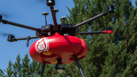 "Air Marine accompagne l'invention ""Drone pompier"" au concours Lépine International de Paris."