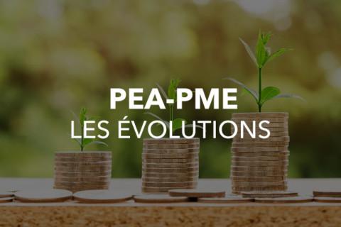 Le PEA-PME évolue !!