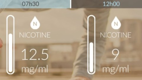 1ère première e-cigarette intelligente & connectée.