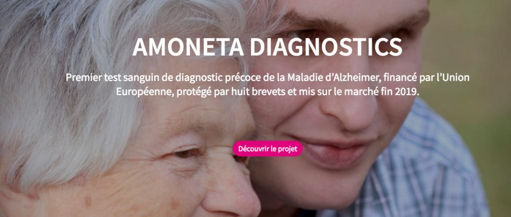 Amoneta Diagnostics veut financer son développement grâce au crowdfunding