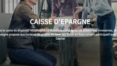 Caisse d'Epargne & Happy Capital : du crowdfunding pour financer l'innovation