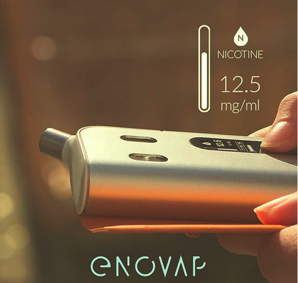Enovap, 1ère e-cigarette à base d'intelligence artificielle qui favorise le sevrage nicotinique et tabagique. La startup poursuit sa campagne de crowdfunding sur Happy Capital