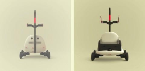 Robot autonome, il transporte vos charges lourdes.
