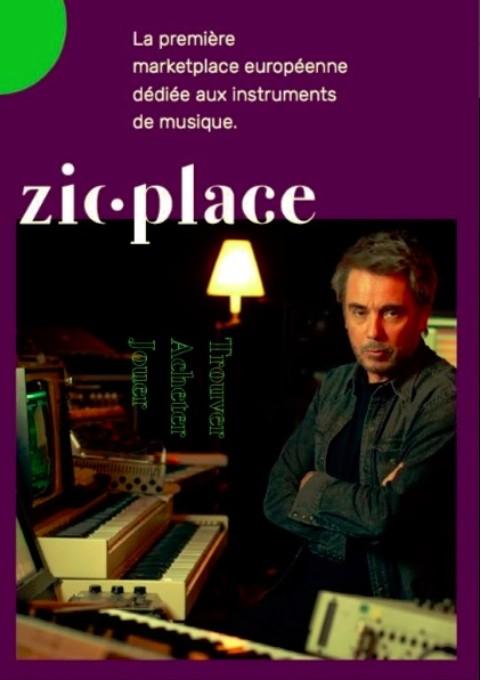 Parrainée par Jean-Michel Jarre, Zicplace veut conquérir la planète.